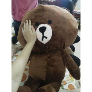 [ẢNH THẬT] Gấu Bông Brown 1m Hàng Cao cấp