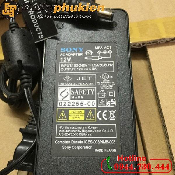 Adapter nguồn Sony 12v 5A hàng nhật - 2922640 , 848237046 , 322_848237046 , 299000 , Adapter-nguon-Sony-12v-5A-hang-nhat-322_848237046 , shopee.vn , Adapter nguồn Sony 12v 5A hàng nhật