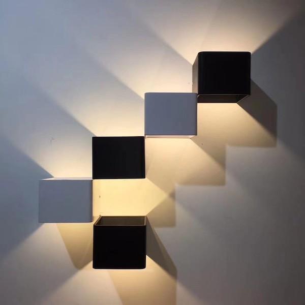 Đèn vách gắn tường trang trí đèn cầu thang GT-350 ánh sáng vàng 5W