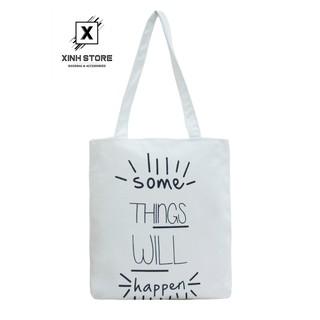 Túi Vải Đeo Vai Tote Bag Some Thing XinhStore thumbnail
