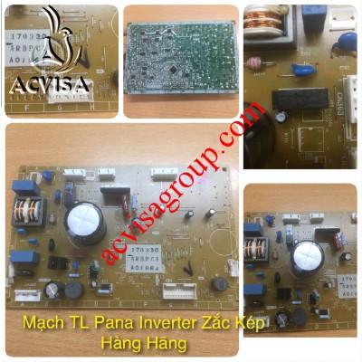 Mạch tủ lạnh Pana Inverter zắc kép hàng hãng