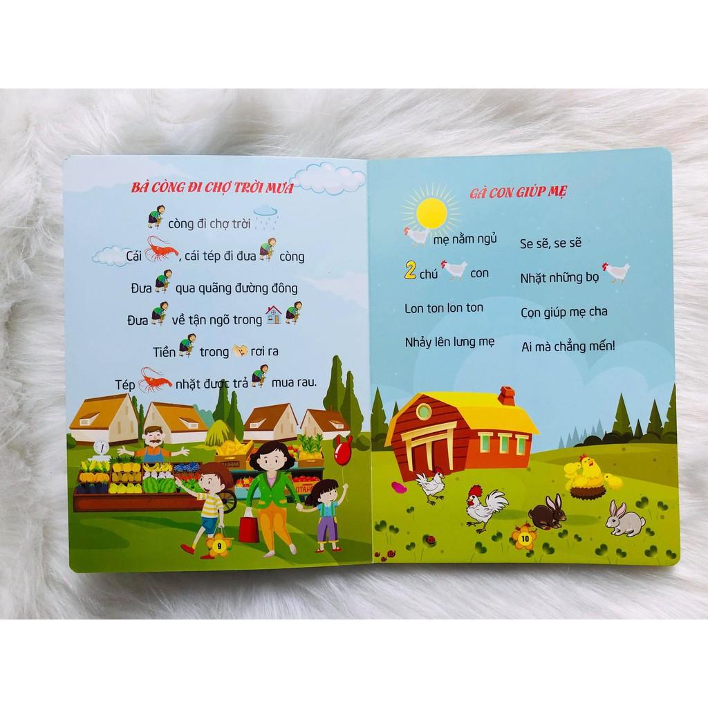 Sách - Combo 2 cuốn: Truyện Tiềm Thức + Đồng Dao Tiềm Thức Cho Bé Tập Nói, Tập Đọc