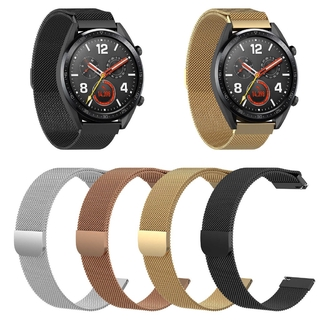 Đồng Hồ Nữ Dây kim loại Dây Đeo Thép không rỉ Milanese Vòng Tay cho Đồng Hồ Huawei Watch GT GT2 danh dự dây Magic watch2 3 thumbnail