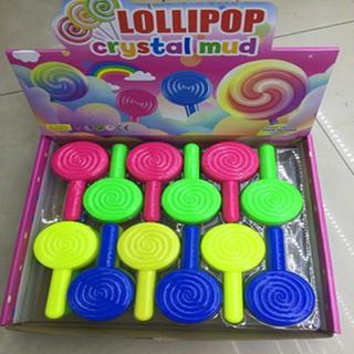 đồ chơi slime -chất nhờn que kẹo mút mã SNN35 Jhàng chính hãng