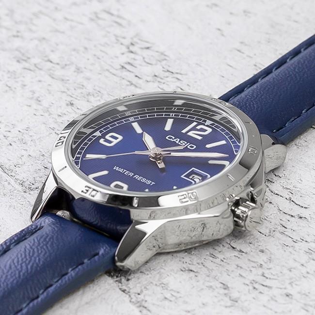 Đồng hồ đôi Casio LTP-V004L-2BUDF và MTP-V004L-2BUDF lịch lãm khỏe khắn thanh lịch b