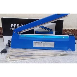 Máy hàn miệng túi pfs200 nhựa Máy cắt màng co 20CM nhựa