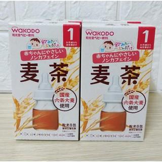 Trà lúa mạch WAKODO cho bé từ 1 tháng tuổi - Giúp hệ tiêu hóa của bé khỏe mạnh (Date 8 2021)