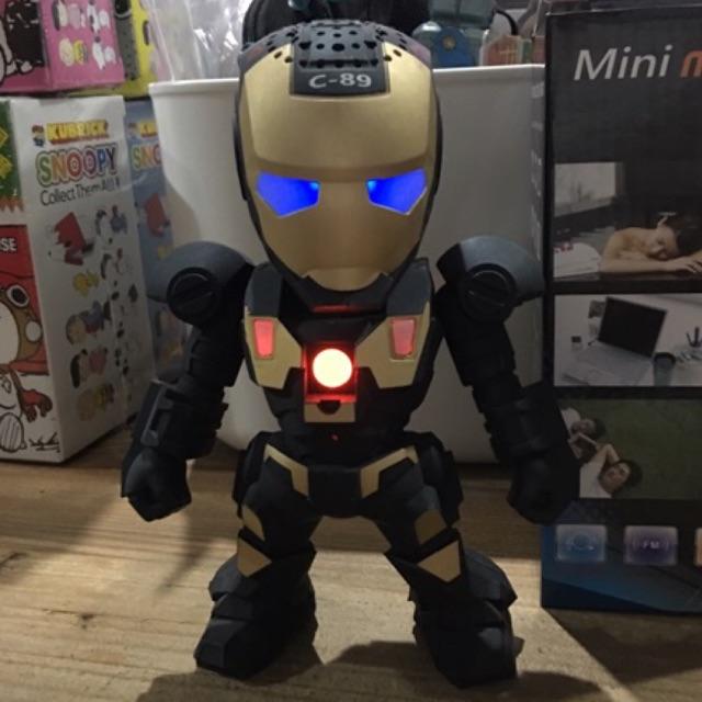 Iron Man  Portable Speaker ลำโพงไอรอนแมน