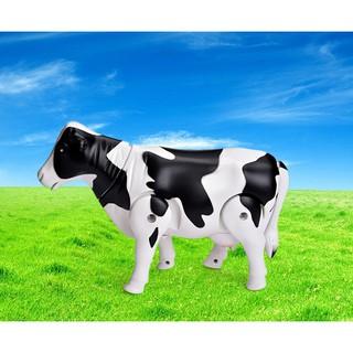 Đồ Chơi Bò Sữa Biết Đi Và Phát Nhạc Vui Nhộn Cho Bé