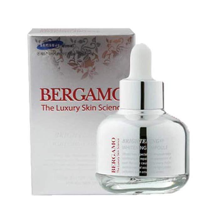 Hình ảnh có liên quanTinh chất serum Bergamo Luxury Skin Science Brightening– Màu Trắng: