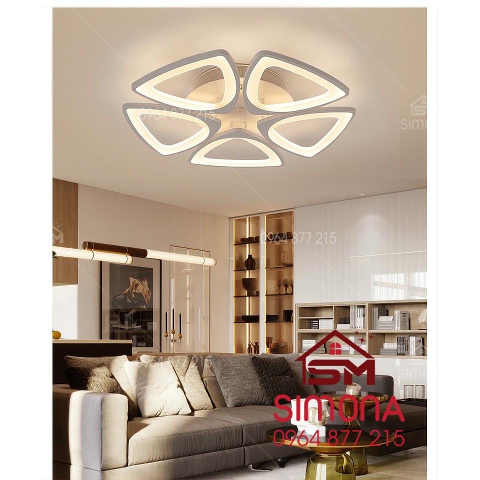 Đèn trang trí, đèn trang trí phòng khách đèn Mâm Ốp Trần Hiện Đại Led Trang Trí SM 2989
