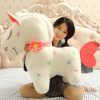 【Hot Sale】 90cm Unicorn Little Pony Stuffed Toy Plush Pillow GirlGift