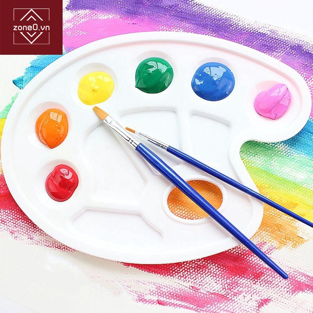 Art painters Plastic Palette Mixing Tray Artist Color Painting Drawing Palettes