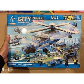 Xếp Hình Lego Máy Bay Tổng Hợp CITY POLICE NO. 8011