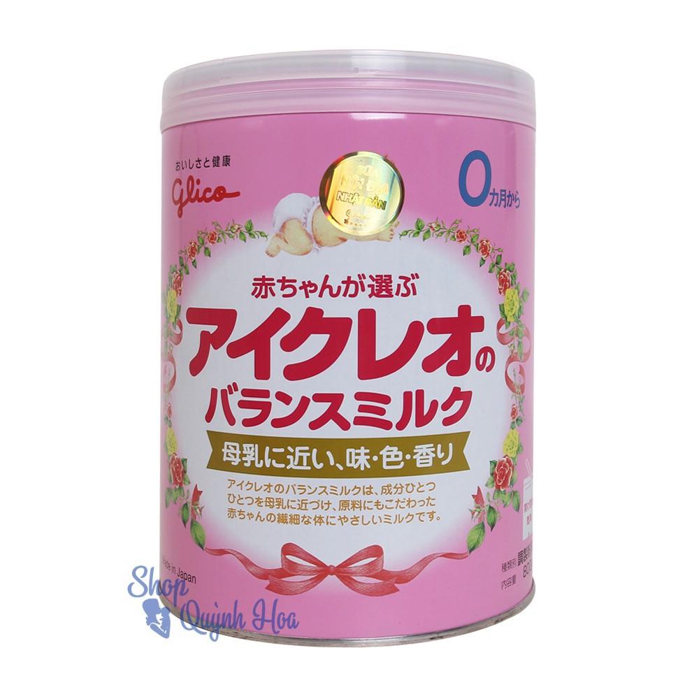 Sữa Glico số 0, 800g (hàng nhập
