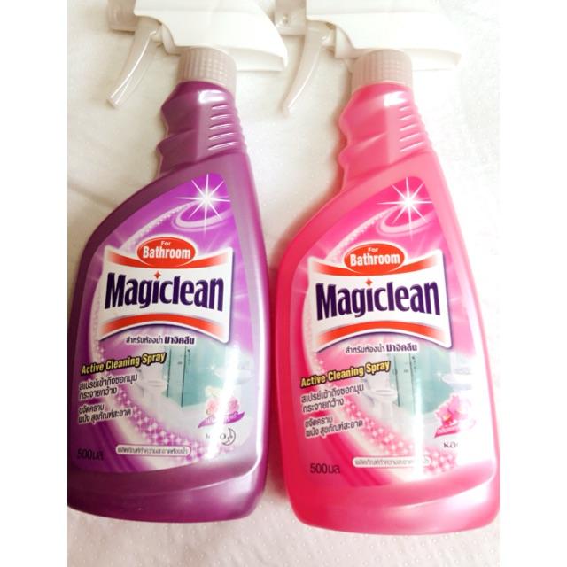 Xịt cọ rửa phòng tắm Magiclean 500ml Thái lan