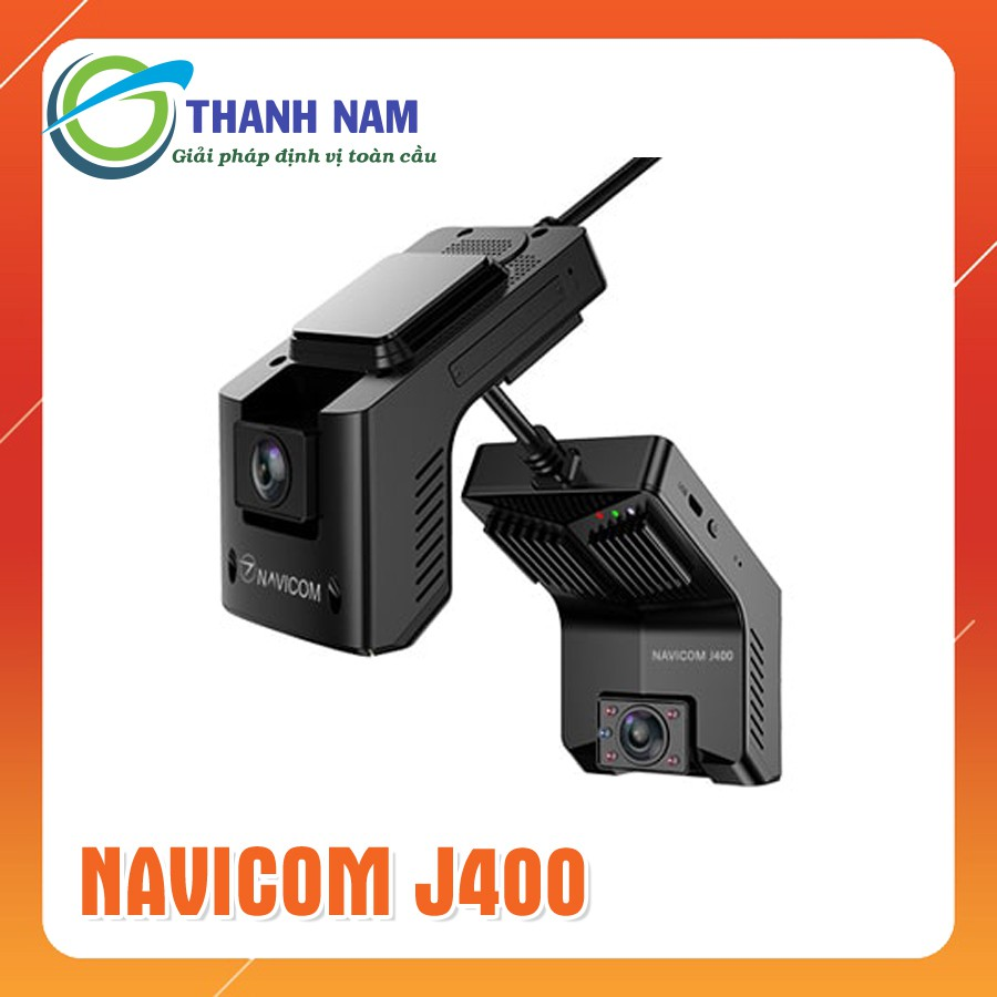 Camera hành trình Navicom J400, Giám sát trực tuyến từ xa, Kết nối WIFI-4G,  ghi hình trước trong xe sắc nét chính hãng 4,500,000đ