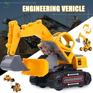 [sdp] Excavator Toys Engineering Vehicle Model Durable Safe Alloy for Children Kids Boy