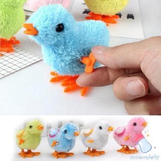 Cute Little Toy Stuffed Chicken Chain Clockwork Chick Chicken Kids Toys