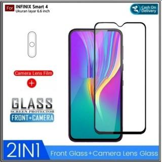 Kính cường lực toàn màn hình chống trầy cho máy ảnh Infinix Smart 4 thumbnail