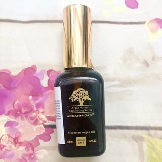 Tinh dầu chính hãng phục hồi tóc hư tổn khô xơ Arganmidas 50ml thumbnail