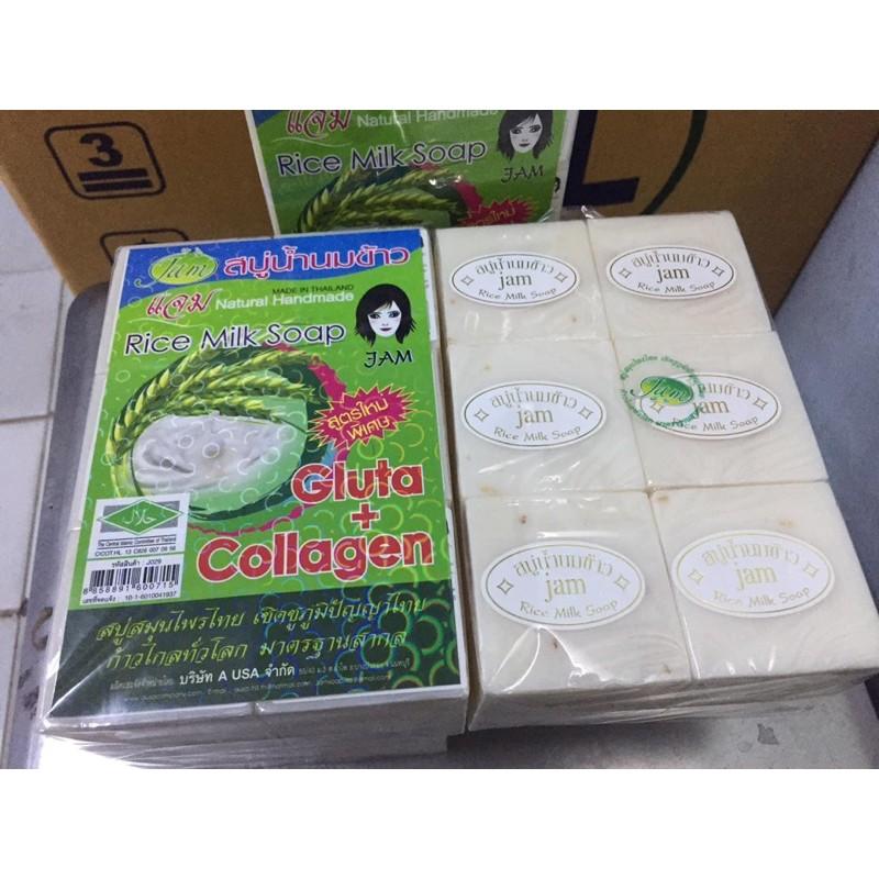 Xà phòng cám gạo Rice Milk Soap Thái Lan Hàng Loại 1