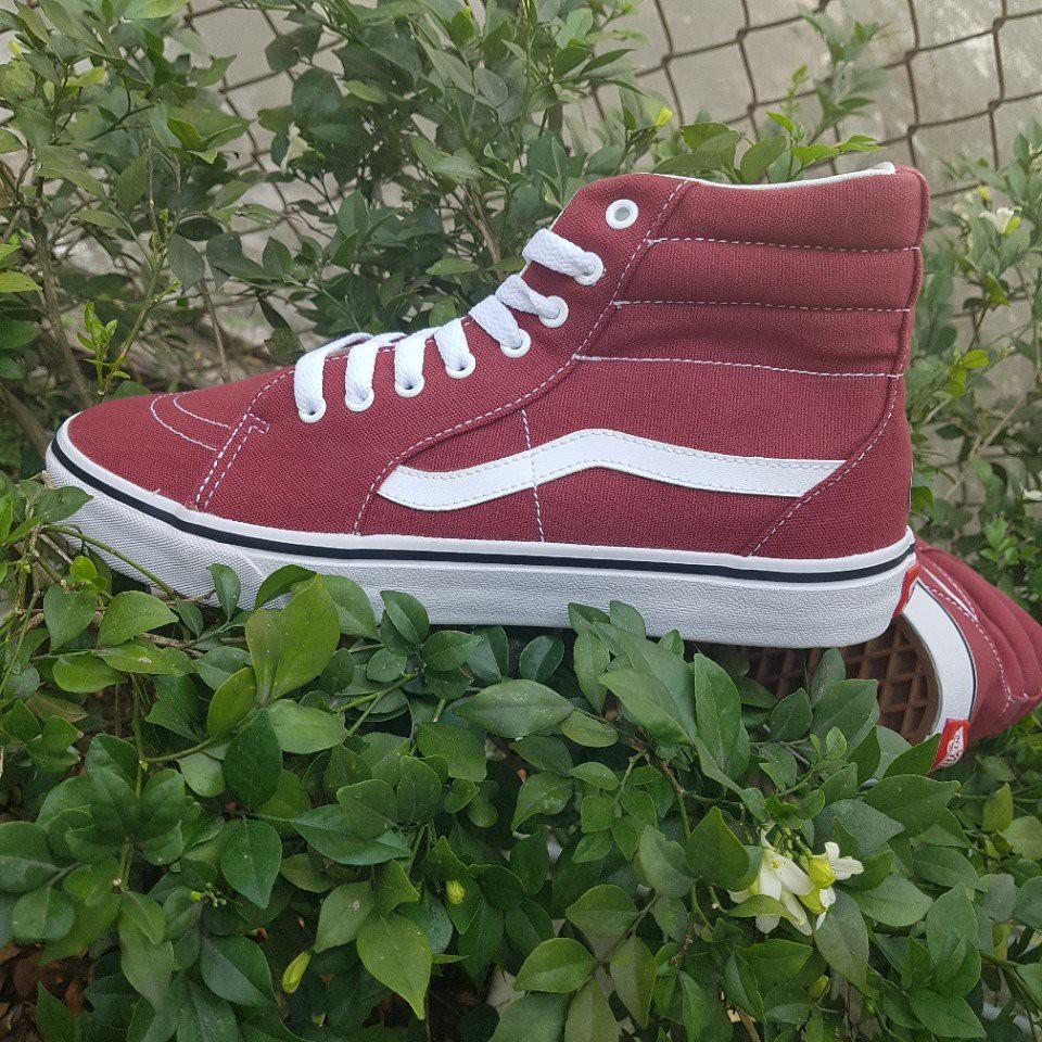 [FREE SHIP] Giày Vans Old Skool SK8 hi màu đỏ đô mận - 3482712 , 721780254 , 322_721780254 , 180000 , FREE-SHIP-Giay-Vans-Old-Skool-SK8-hi-mau-do-do-man-322_721780254 , shopee.vn , [FREE SHIP] Giày Vans Old Skool SK8 hi màu đỏ đô mận
