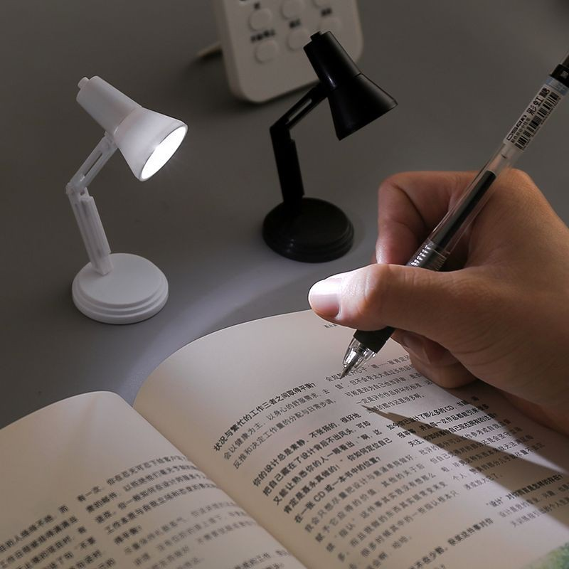 Đèn Mini [GIÁ TỐT] Đế Tháo Rời, Có Thể Kẹp Vào Sách BiTi DMN79