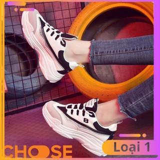 [Bản Mới Nhất] Giày Nữ Sneaker Choose Độn Đế ULZANG Thể Thao Tăng Chiều Cao Phối Màu Cá Tính G2902 thumbnail