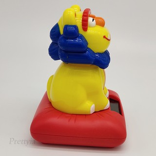 Solar Powered Dancing Cartoon Animal Swing Figure Toy Car Decor Lion