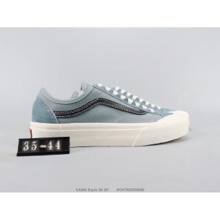 (nguyên bản) VANS Fans Style 36 SF màu xanh da trời thấp nam và giày nữ
