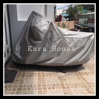 Yêu ThíchBạt trùm xe máy Kara House 220cm x 115cm che vừa vặn tất cả các loại xe máy - Hàng VN chất lượng cao