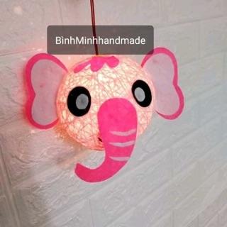 Lồng đèn handmade hình voi