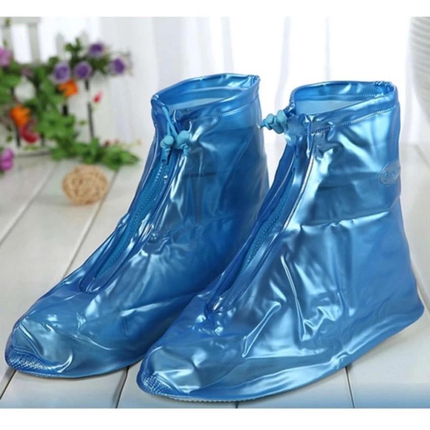 Ủng đi mưa màu xanh cỡ XL