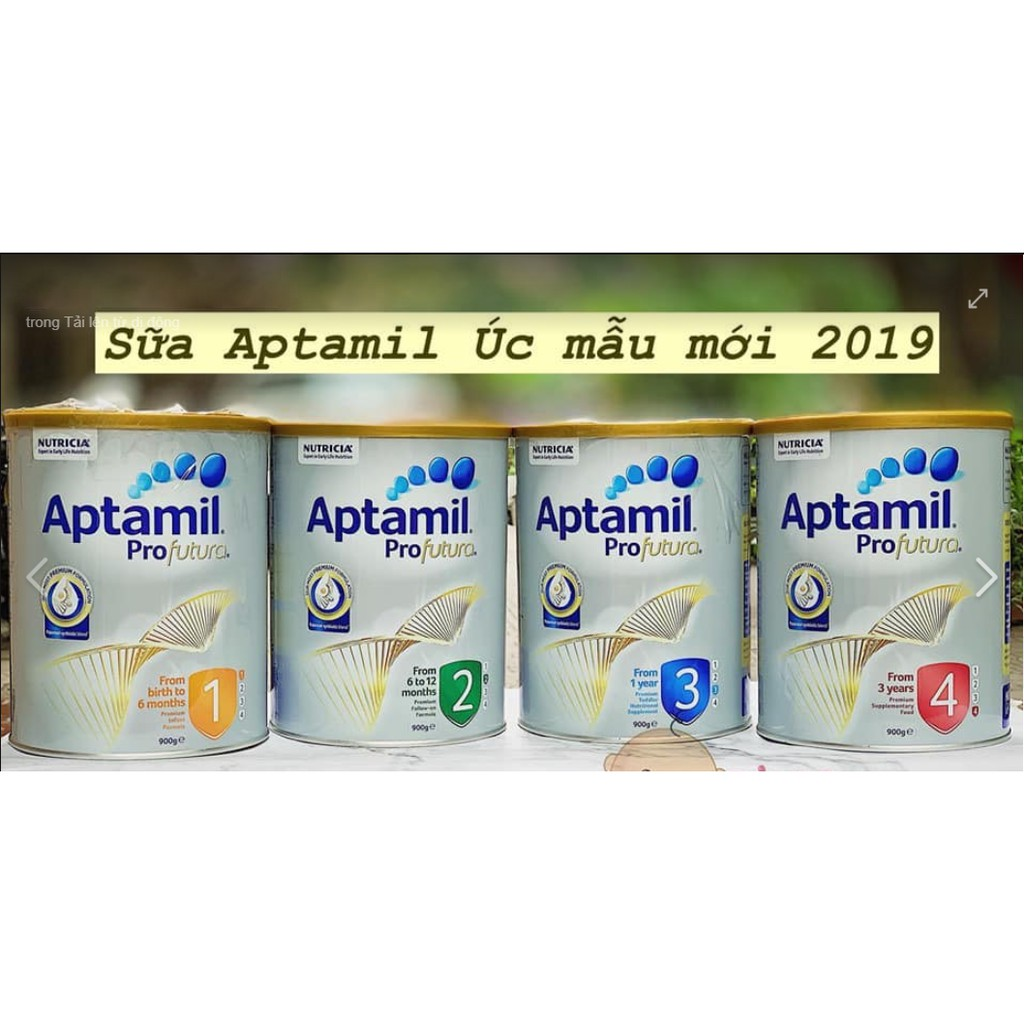 Sữa Aptamil Úc 800gr Đủ Số Date 2022