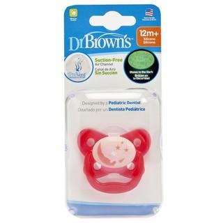 Ty ngậm phát sáng Dr.Brown s màu hồng 12 tháng