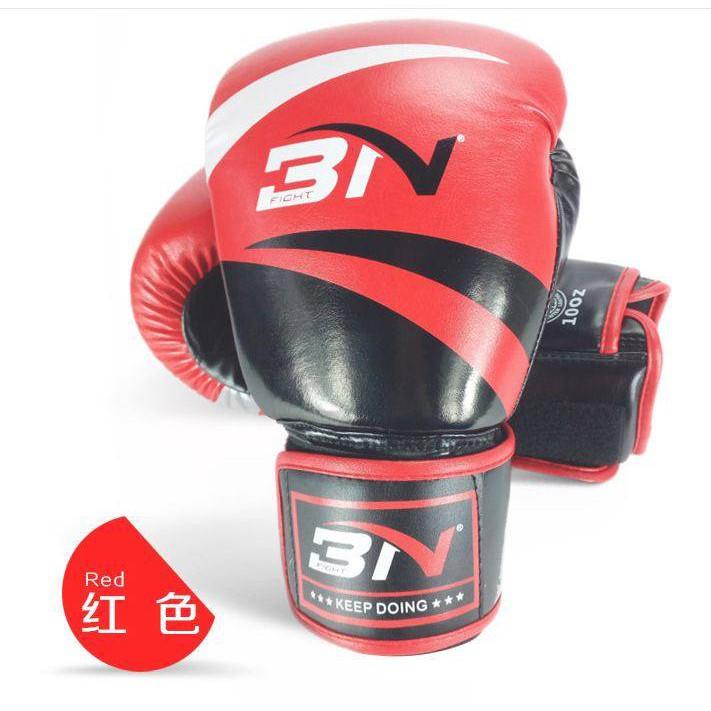 Freeship Găng tay boxing Bn tặng kèm túi chính hãng đủ màu đủ size