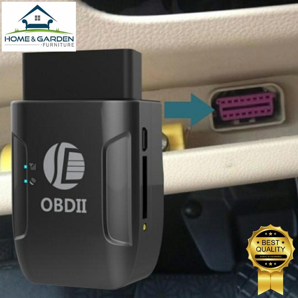 Thiết bị định vị GPS cho ô tô cổng OBD II (không mất phí duy trì, dễ lắp đặt 9-50V)