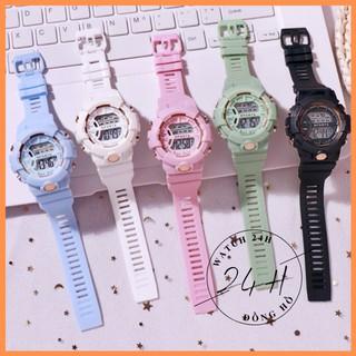 Đồng hồ nam nữ Sports GST500 , điện tử 4 nút cao cấp, nhiều màu sắc trẻ trung và năng động