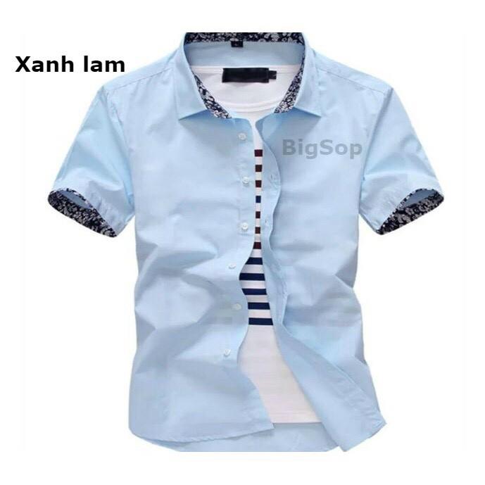 Bộ sưu tập mẫu áo sơ mi nam Hàn Quốc ngắn tay( 6