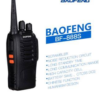 [Mã ELORDER5 giảm 10K đơn 20K] Bộ đàm Baofeng 888s hàng chính hãng