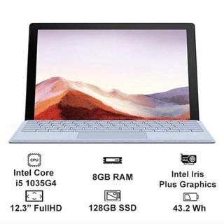 [Mã 267ELSALE1 giảm 5% đơn 3TR] Máy tính Surface pro 7 chính hãng Microsoft core i5/8gb/128gb nguyên seal mới 100%