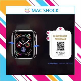 Miếng dán dẻo skin PPF Apple Watch phục hồi trầy xước size 38 40 42 44mm – MAC SHOCK