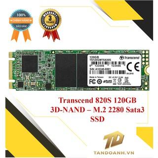 Ổ cứng lưu trữ SSD Transcend 820S 120GB 3D-NAND – M.2 2280 Sata3