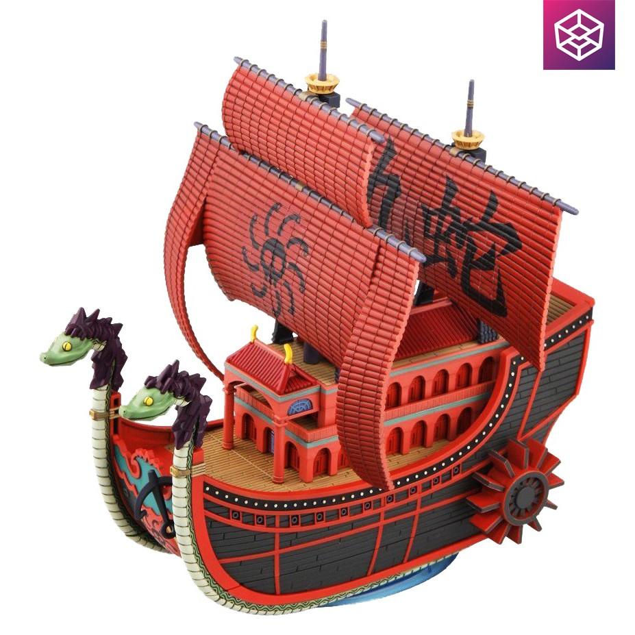 Mô hình lắp ráp Model Kits One Piece Nine Snake