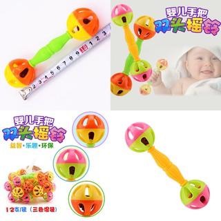 Lục lạc cho bé, xúc xắc , súc sắc 2 đầu tròn cho bé đồ chơi cho bé