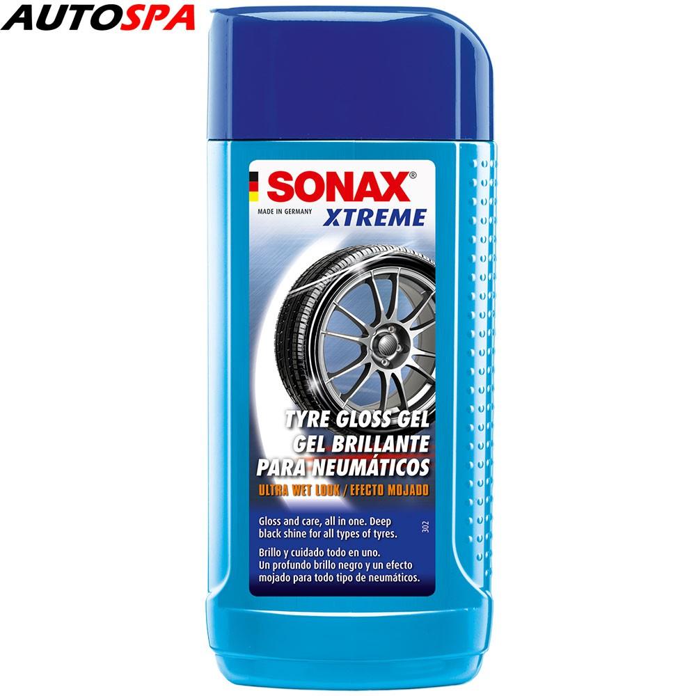 Gel làm đen bóng, bảo vệ lốp vỏ xe Sonax Xtreme Tyre Gloss Gel 250ml