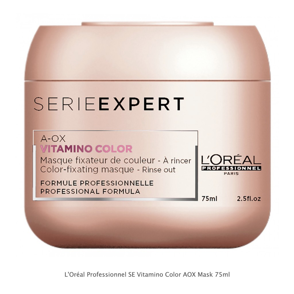 Mặt nạ dành cho tóc nhuộm Loreal Vitamino Color Mask 75ml