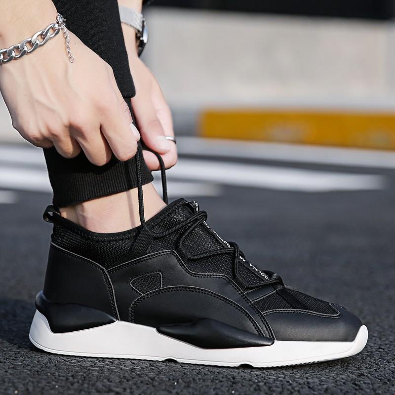 Influx of men's casual shoes spring Korean men's sneakers tr
