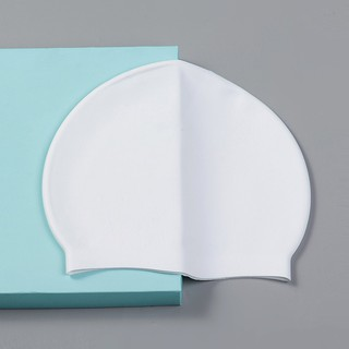 Mũ bơi silicone chính hãng POPO nón bơi người lớn cho nam nữ, cho bé, trẻ em trên 6 tuổi chất liệu an toàn thumbnail